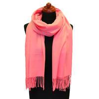 Šál kašmírový - ružový