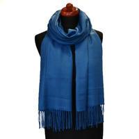 Šál kašmírový - modrý