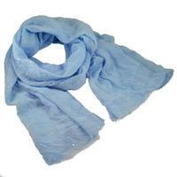 Šál klasický - modrý
