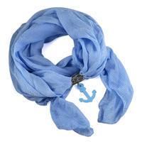 Šál Nautica 279up003-31 - modrý