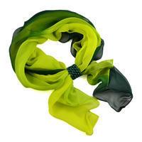 Šál so sponkou Melodie 299mel002-53.51 - zelený