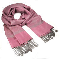 Šál teplý - ružový