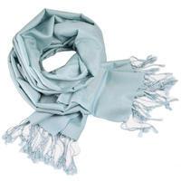 Šál teplý - svetlo modrý