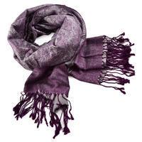 Šál teplý 69cz001-35a - fialový