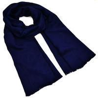 Šál teplý - modrý