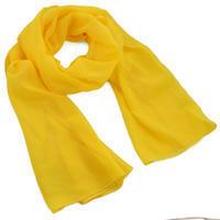 Šál klasický - žltý