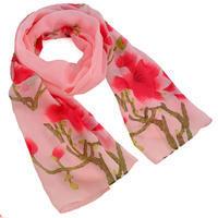 Šál klasický - ružový