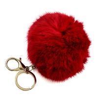 Kľúčenka - prívesok na kabelku prq125-20 - červený