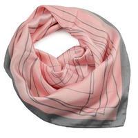 Šatka - ružovosivá
