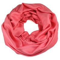Zimný tunelový šál - ružový