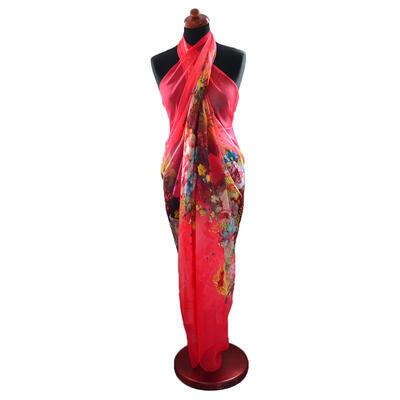 Pareo dámske Astarte - červeno-ružové