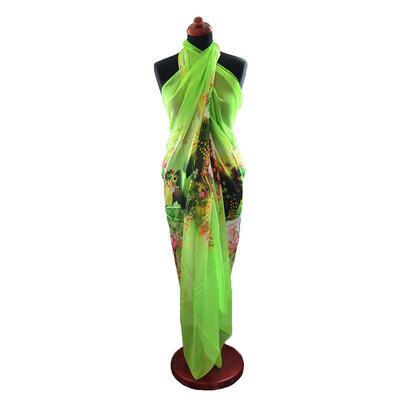 Pareo dámske Astarte - zelené
