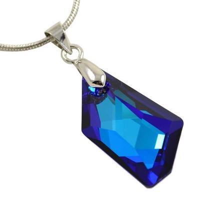 Prívesok Swarovski Elements De-Art 339akt6670-24-30 - modrý