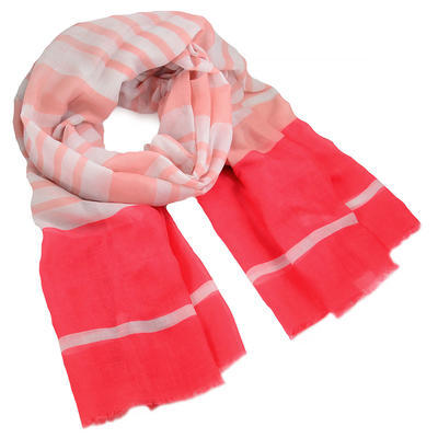 Šál klasický - ružový - 1