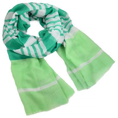 Šál klasický - zelený - 1