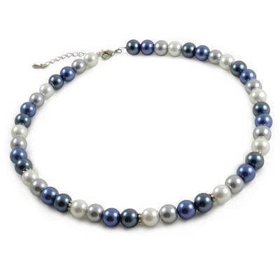 Náhrdelník Modrá Vlna 34bm002-30 - modrý - 1
