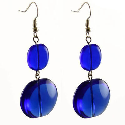 Náušnice 22bm001-30 - modré