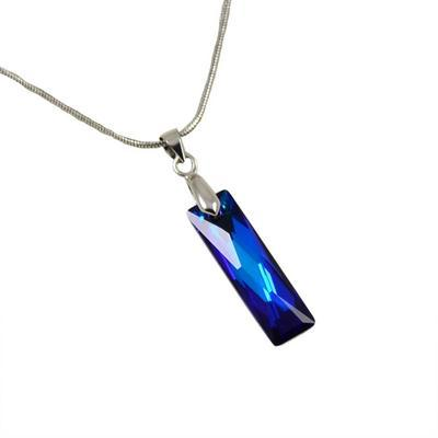 Náhrdelník Swarovski Elements 339akt6465-25-30 - modrý