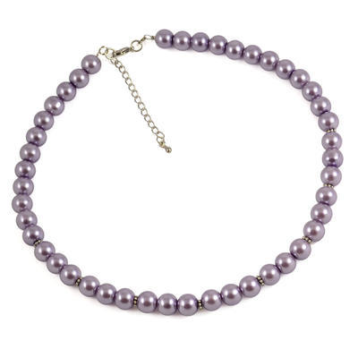 Náhrdelník 34bm001-35 - svetlo fialový