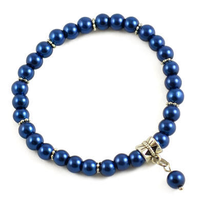 Náramok Bijoux Me 26bm003-36a - tmavo modrý