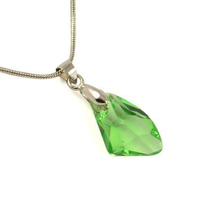 Prívesok Swarovski Elements 339akt6656-19-51 - zelený