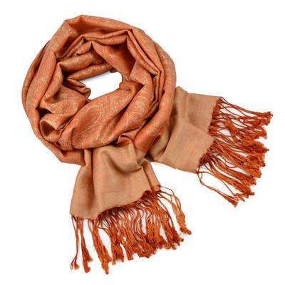 Šál teplý 69cz001-11 - oranžový