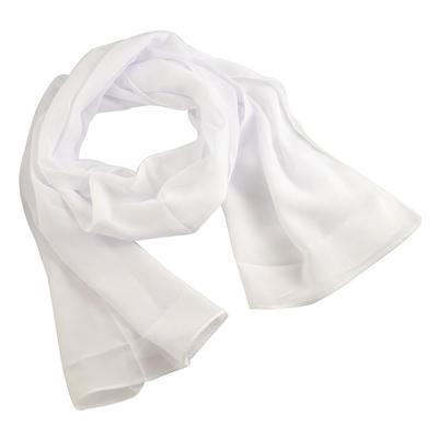 Šál klasický 69kl001-01 - biely