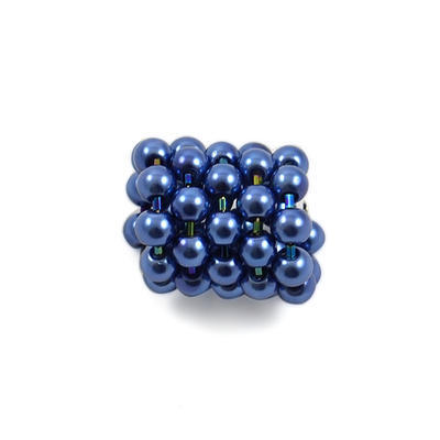 Spona na šatku 100sp30 - modrá - 1