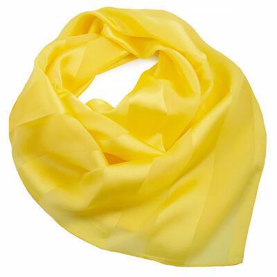 Šatka - žltá jednofarebná