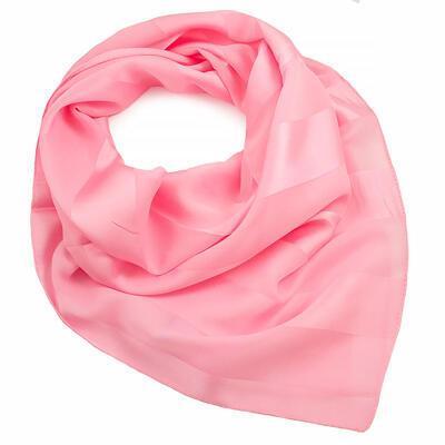 Šatka - ružová jednofarebná