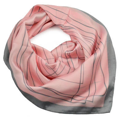 Šatka - ružovosivá - 1