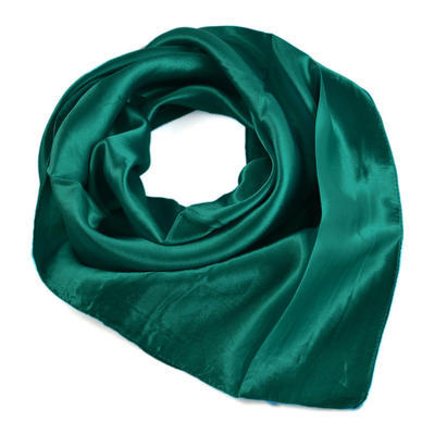 Šatka saténová malá 63sk001-38 - zelená