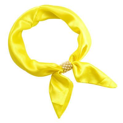 Šatka so sponkou Letuška Light 245lel001-10 - žlutá - 1