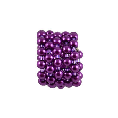 Spona na šál 149sp33 - fialová - 1