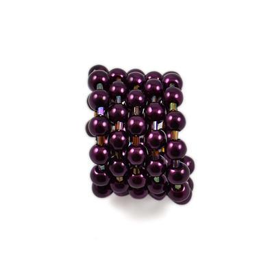 Spona na šál 149sp39 - tmavo fialová - 1