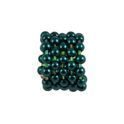 Spona na šál 149sp53 - zelená - 1