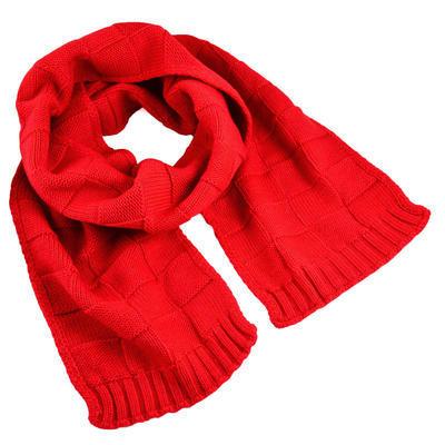 Set šál a čiapky - červený - 2