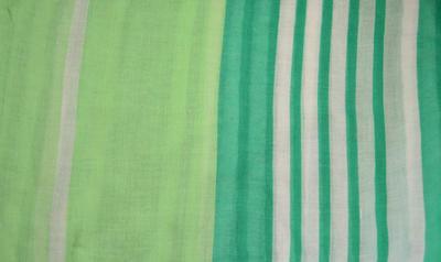 Šál klasický - zelený - 2