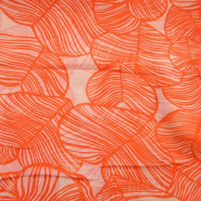 Šál klasický - oranžový - 2