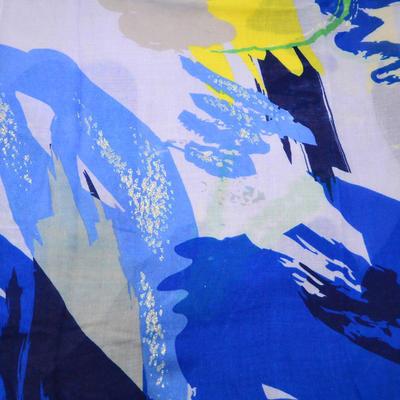 Šál klasický - modrý - 2
