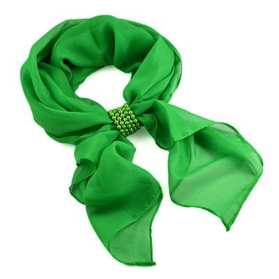 Spona na šál 149sp51 - zelená - 2