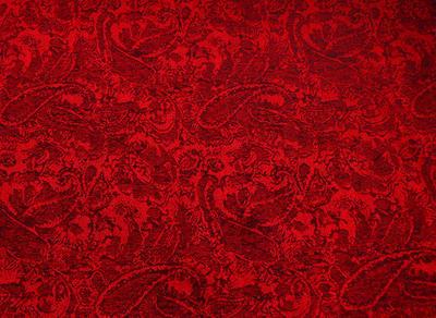 Šál teplý 69cz001-20a - červený - 2