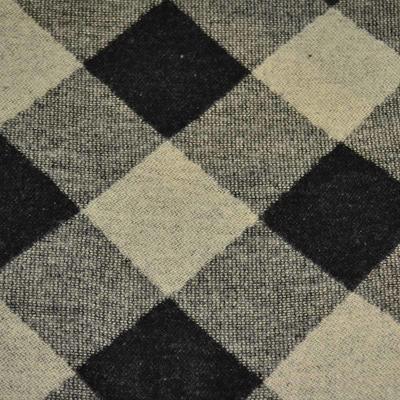 Šál teplý - čiernobéžový - 2