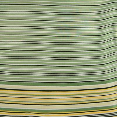 Šatka saténová malá 63sk003-51 -  zelená - 2