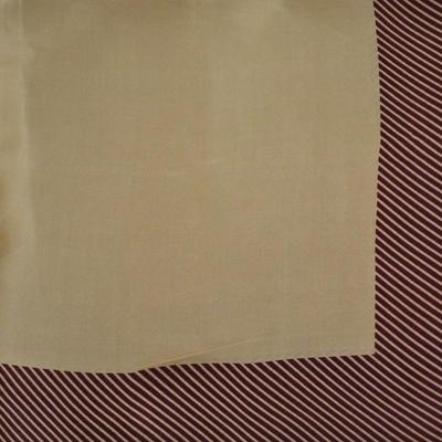 Šatka - hnedá s potlačou - 2
