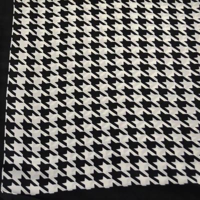 Šatka - čiernobiela - 2