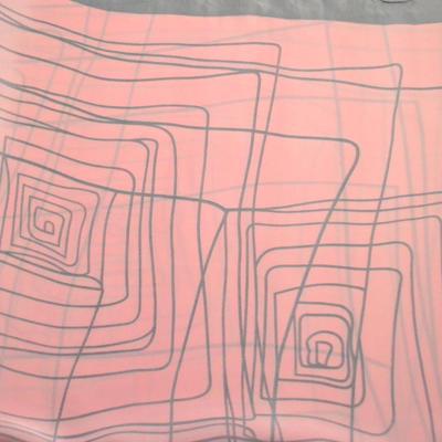 Šatka - ružovosivá - 2