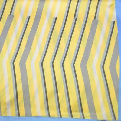 Šatka saténová malá - žltomodrá - 2