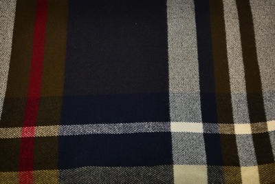 Šál teplý 69cz013-36.40 - modrý - 2