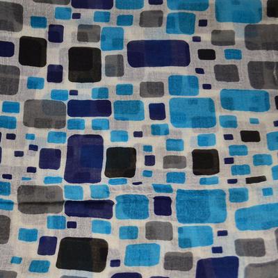 Tunelový šál 69tu006-01.30 - modrý - 2
